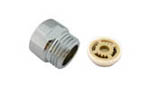 "12L/Min shower flow restrictor with 1/2"" Male and 1/2"" Female brass connector"