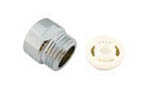 "8L/Min shower flow restrictor with 1/2"" Male and 1/2"" Female brass connector"