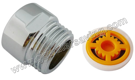 "G1/2"" Male&Female thread shower connector with shower regulator"