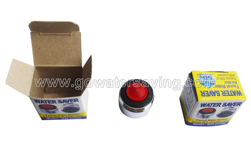 single color box packing for water saver